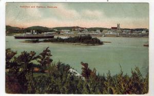Bermuda Hamilton Harbor  Ship Arriving