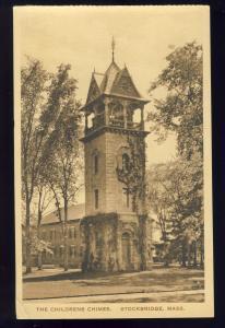 Stockbridge, Massachusetts/Mass/MA Postcard, The Childrens Chimes
