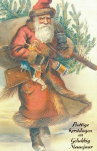 Embossed - Santa Claus Merry Christmas - 04.33