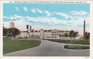 Florida Lakeland National Home Of The United Brotherhood Of Carpenters And Jo...