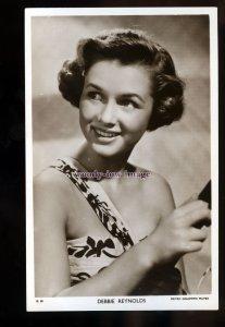 b0231 - Film Actress - Debbie Reynolds - Picturegoer No.D 50 - postcard