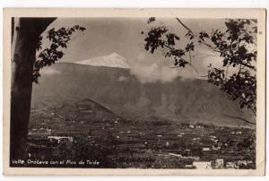 Valle Orotava con el Pico de Teide