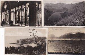Dubrovnik Ragusa 4x Antique Croatia Real Photo Postcard s