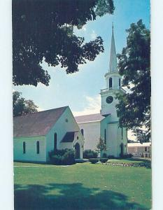 Unused Pre-1980 CHURCH SCENE Cooperstown New York NY A7302