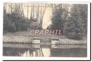 Rambouillet Postcard Old L & # 39ile Rocks