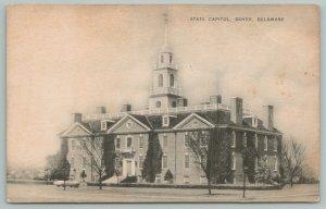 Dover Delaware~State Capitol Building~c1910 Postcard
