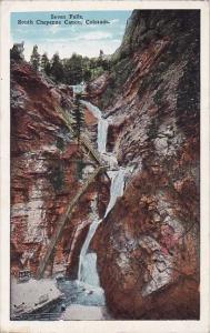Colorado South Cheyenne Canon Seven Falls