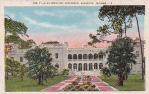 Florida Sarasota The Charles Ringling Residence