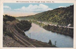 Scenic view,  Lackawanna Trail through Gorge,  Alford,  Pennsylvania,   00-10s