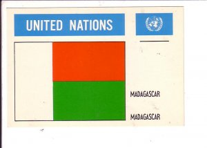 Madagascar Flag, United Nations