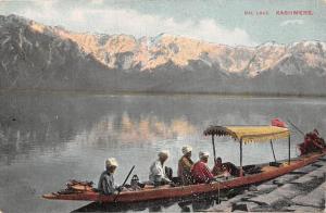 India, Kashmir, Kashmere, Dal Lake, gondola boat, mountains lake