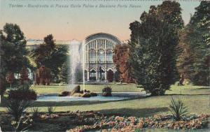 Giardinetto Di Piazza Carlo Felice E Stazione Porta Nuova, Torino (Piemonte),...