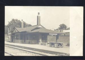 RPPC WEBSTER GROVES MISSOURI PACIFIC RAILROAD DEPOT STATION