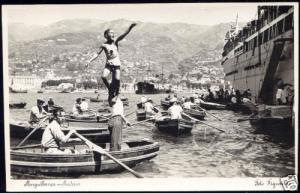 portugal, MADEIRA, Mergulhanca, Sellers (1950s) RPPC
