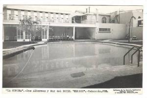 RP, La Concha (2), Two Swimming Pools & Bar Of Hotel Mexico, Tehuacan, Pu...