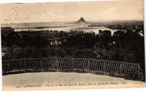 CPA AVRANCHES - Vue sur la Baie du Mon St-MICHEL (149766)