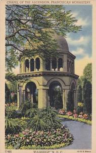 Chapel of the Ascension, Franciscan Monastery, Washington D.C.,  30-40s