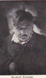 Confreia Cigarette Card Film &  Stage Stars No 43 Rudolf Forster