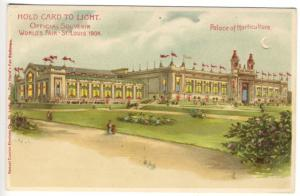 Palace of Horticulture H-T-L St Louis Worlds Fair Exposition Postcard
