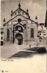 CPA VERONA Il Duomo. . ITALY (448590)