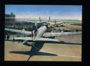 164931 Japan TOKYO Airport Air Port old photo postcard