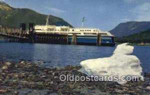 MV Taku, Alaska, AK USA Steam Ship Postcard Post Cards  MV Taku, Alaska, AK USA