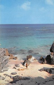 Bermuda Postcard Old Vintage Island Post Card South Shore Beach Warwick Unused