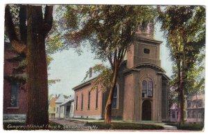 Skowhegan, Me, Congregational Church