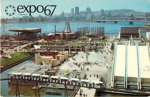 Expo67 Montreal Canada 1967 Chrome