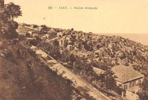 Lebanon Aley Station hivernale General view Panorama