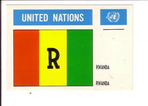 Rwanda United Nations Flag