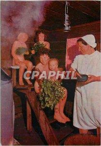 Postcard Modern Suomi Finland Spirit of the Finish sauna