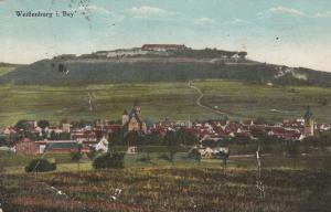 WIBENBURG i. BAY, Germany, 1900-10s; Aerial View