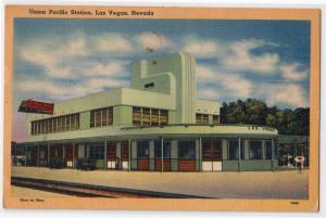 Union Pacific Station, Las Vegas NV