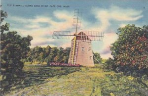 Old Windmill Bass River Cape Cod Massachusetts 1939