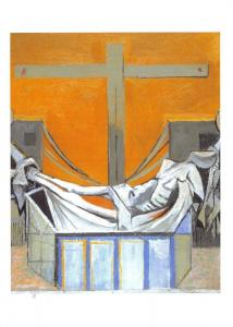 Christian Art Print Postcard, The Deposition by Graham Sutherland 1947 I59