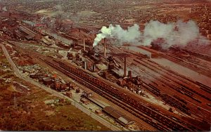 Ohio Youngstown Aerial View Of The Industrial Area