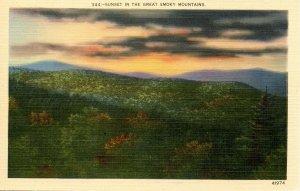 Great Smoky Mountains Nat'l Park - Sunset