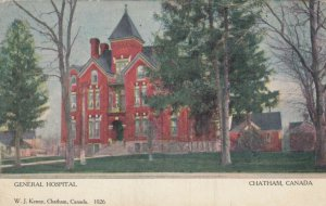 CHATHAM , Ontario , Canada , 1905 ; General Hospital