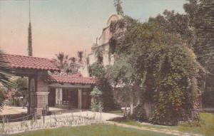 California Riverside Campanile Mission Inn Handcolored Albertype