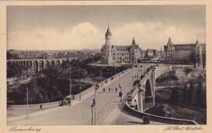 Bridge, Le Pont Adolphe, Luxembourg, 1910-1920s