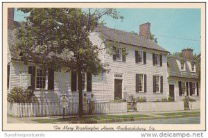 The Mary Washington House Fredericksburg Virginia