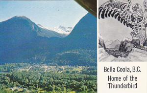 Canada Aerial View Bella Coola Columbia