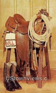 Will Rogers Saddle - Claremore, Oklahoma