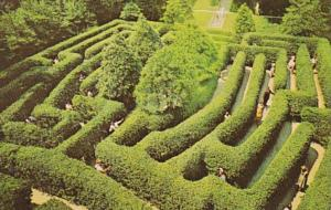 Virginia Williamsburg Governor's Palace The Maze