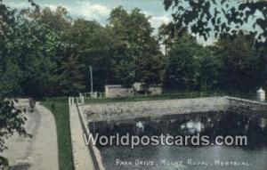 Montreal Canada, du Canada Park Drive, Mount Royal  Park Drive, Mount Royal