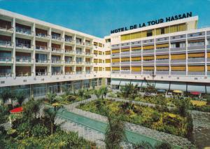 RABAT, Morocco, 1950-1970's; Hotel De La Tour Hassan