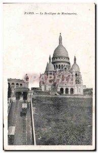 Paris Old Postcard Basilique du Sacre Coeur Montmartre