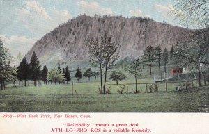 NEW HAVEN, Connecticut, 1900-1910's; West Rock Park