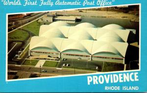 Rhode Island Providence World's First Fully Automatic Post Office